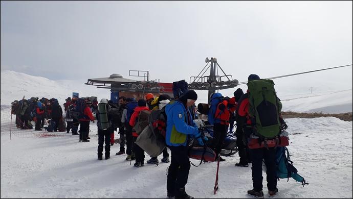11. Geleneksel Erciyes Dağı Kış Tırmanışına  Şanlıurfa Dağcıları da Katıldı