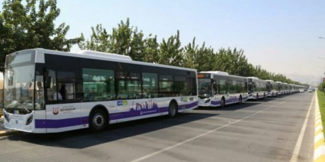 11 Nisan'da Urfa'da Ulaşım Ücretsiz