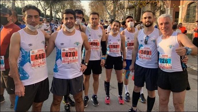 11'inci Adana Maratonu'na Kasaptaşı atletleri damga vurdu