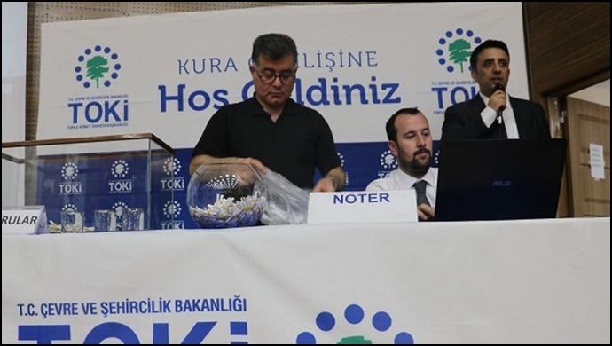 175 konut için Urfa'da kaç kişi başvuruda bulundu?