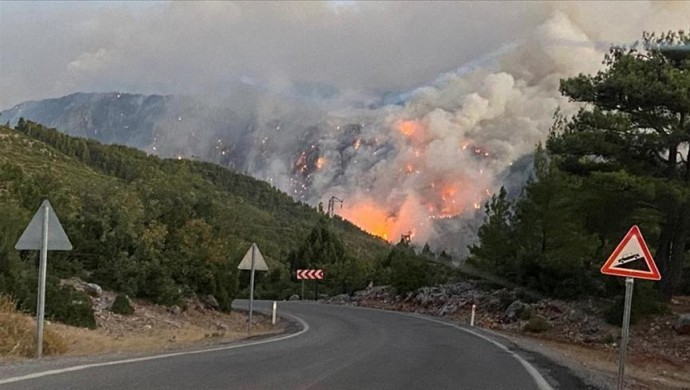 98 orman yangınının 88'i kontrol altına alındı