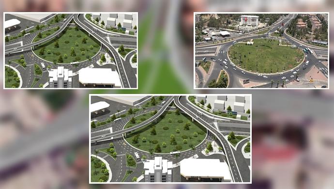 Abide kavşağında trafiği rahatlatacak proje-(VİDEO)