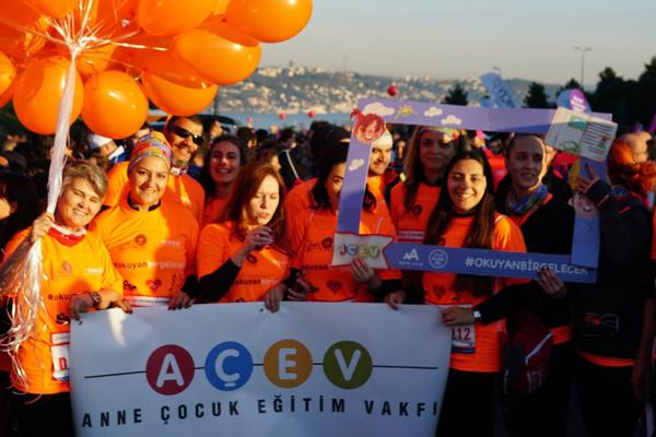 AÇEV, Okuyan Bir Gelecek için İstanbul Maratonu'nda koşmaya davet ediyor