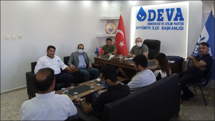 Ağadayı'nın koordinatörlüğünde DEVA Partisi Eyyübiye'de start verdi