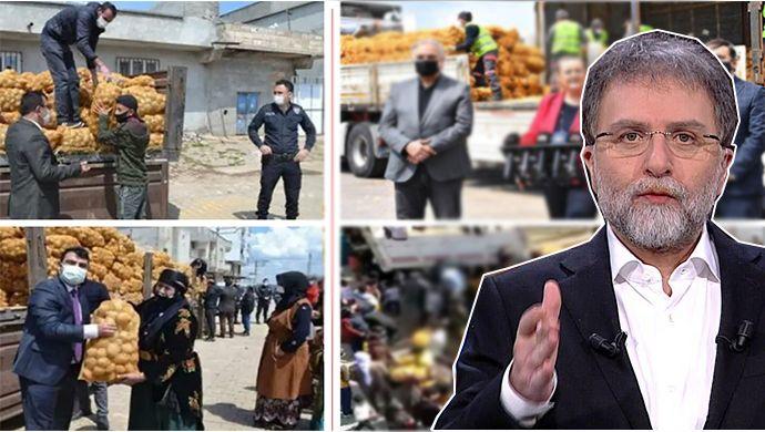 Ahmet Hakan, Urfa'daki patates dağıtımını köşesine taşıdı