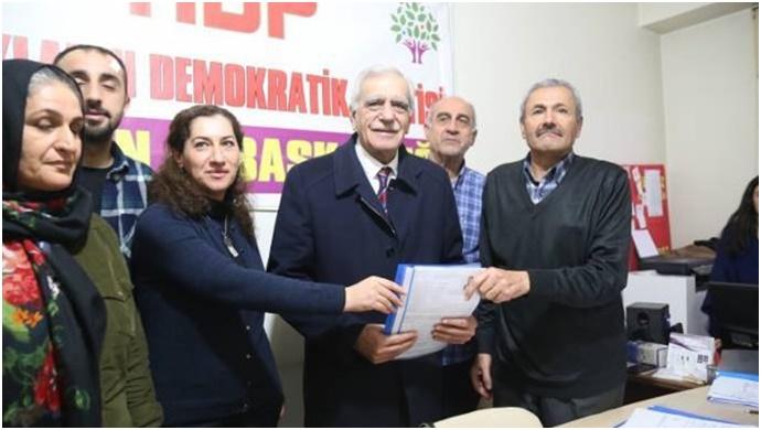 Ahmet Türk aday adayı oldu