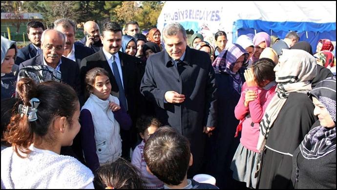 AK Başkan adayı Beyazgül'den seçim mesajı