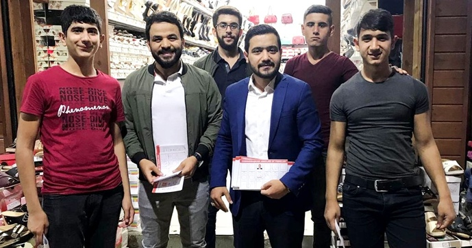 AK Gençler, seçim çalışmalarını sürdürüyor