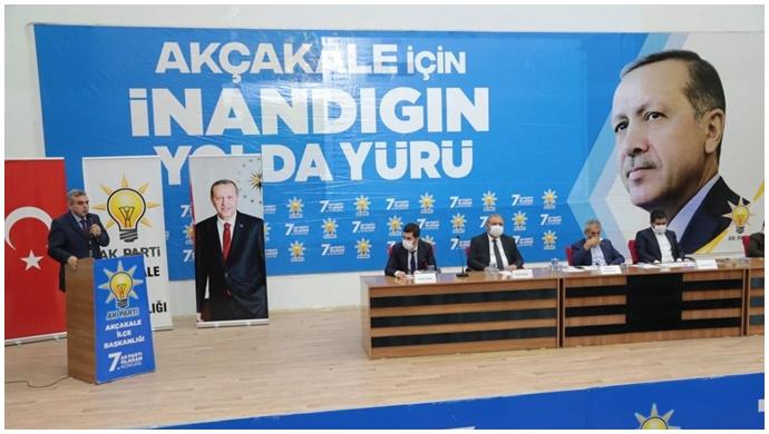 AK Parti Akçakale İlçe Kongresini yaptı