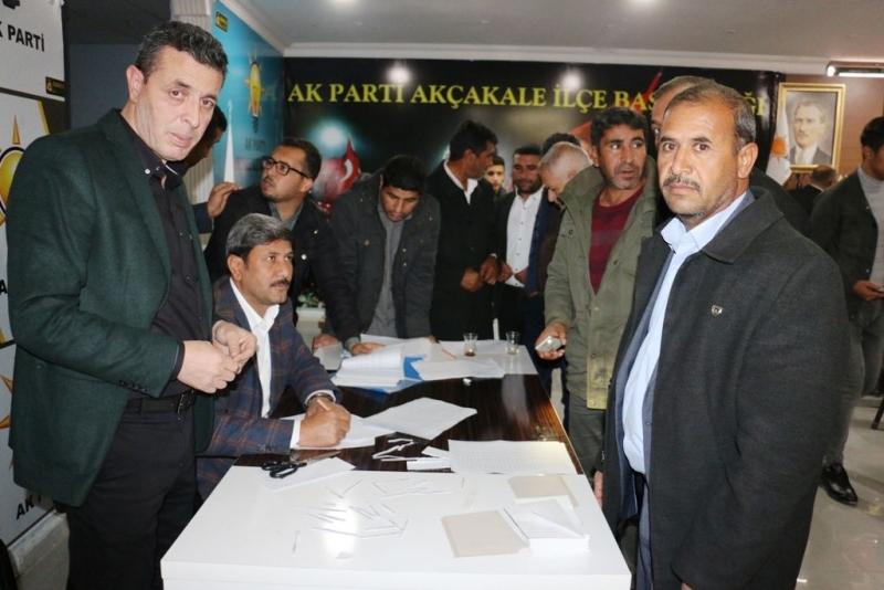 AK Parti Akçakale İlçe Başkanlığında 7ci olağan delege seçimi yapıldı.