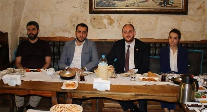 Ak Parti Gençlik Kolları Genel Başkanı Büyükgümüş Şanlıurfa'da