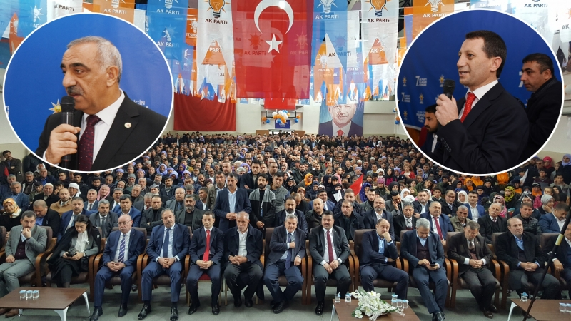 Ak Parti Hilvan 7. Olağan İlçe Kongresi  Başkan Cidir tazeledi