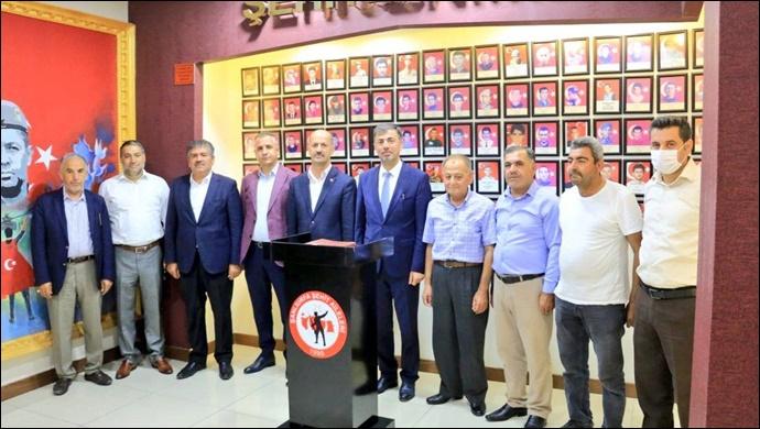 Ak Parti İl Başkanı Kırıkçı'dan Başkan Yavuz'a Ziyaret