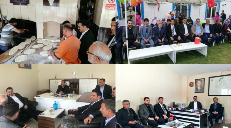 Ak Parti İl Başkanı Yıldız Ve Karaköprü İlçe Başkanı Ağan Dur Durak Bilmiyor.