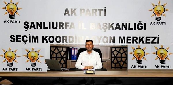 ak parti il skm başkanı kırıkçı'dan vatandaşlara çağrı;