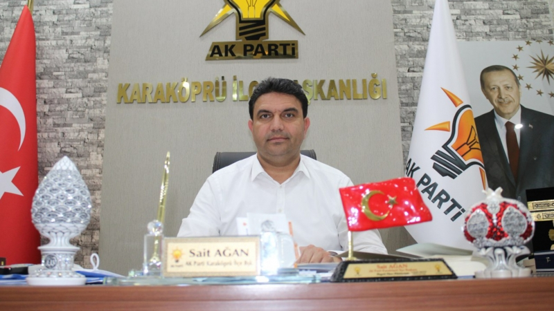 AK Parti İlçe Başkanı Ağan'dan 1 Mayıs İşçi Bayramı Mesajı