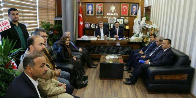 Ak Partili Başkan Yardımcısı Koca Urfa'da