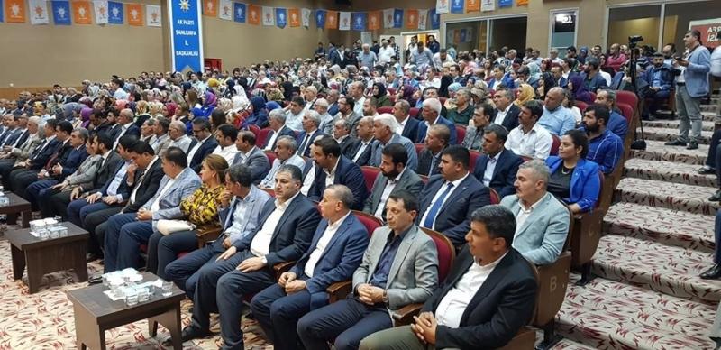AK Parti'nin Eylül ayı genişletilmiş danışma toplantısı başladı