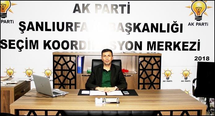 """AK SKM Başkanı Kırıkçı'dan 'Oy' açıklaması;""""Oylarınız boşa gitmesin"""""""