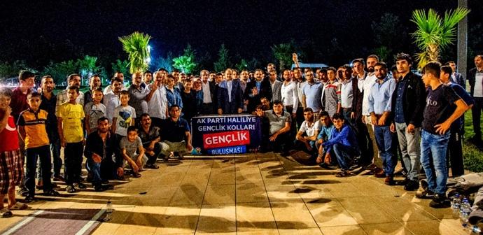 AK Vekil Gülpınar bayramda da durmadı;