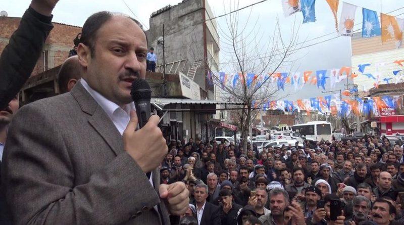 AK Vekil Gülpınar'dan AK aday Aydın'a destek