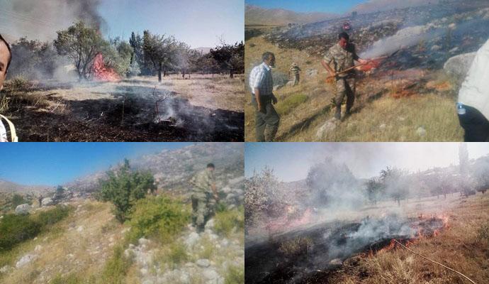 Akabe TOKİ'de yangın …
