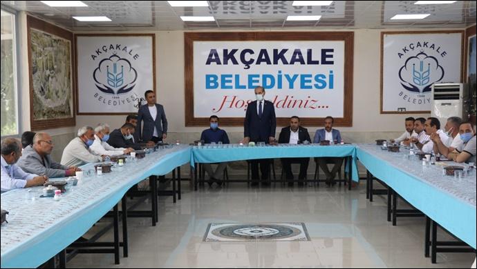 Akçakale belediye meclisi'nden filistin kararı