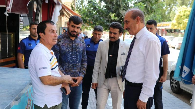 Akçakale esnafından Başkan Yalçınkaya'ya tam destek-(VİDEO)