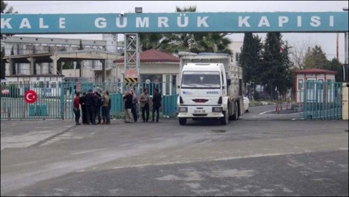 Akçakale Gümrük Kapısı'nda 500 paket kaçak sigara ele geçirildi