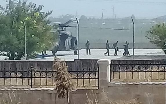 Akçakale sınırında devriye uçuşları devam ediyor