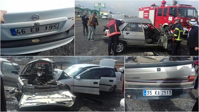 Akçakale yolunda kaza: Çok sayıda yaralı