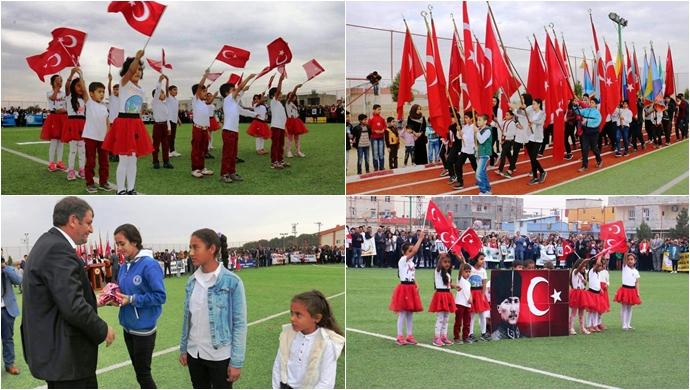 Akçakale'de 29 Ekim Cumhuriyet Bayramı