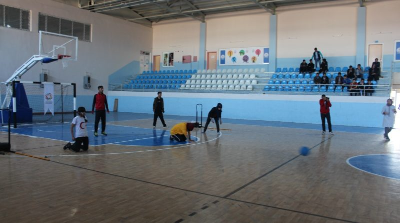 Akçakale'de Goalball Turnuvası düzenlendi