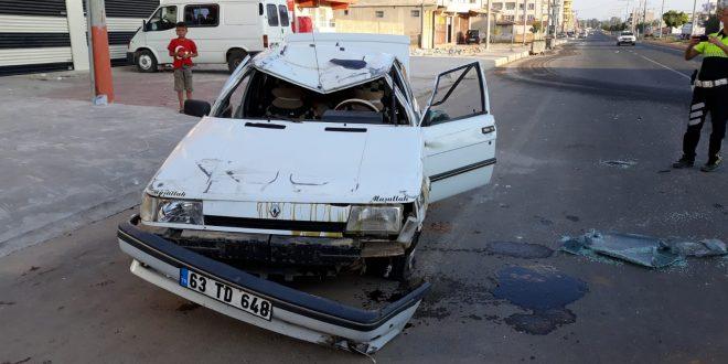 Akçakale'de kaza: Yaralılar var