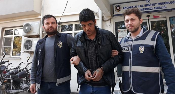 Akçakale'de Sağlık Ocağını Soyan Hırsız Kaçamadı