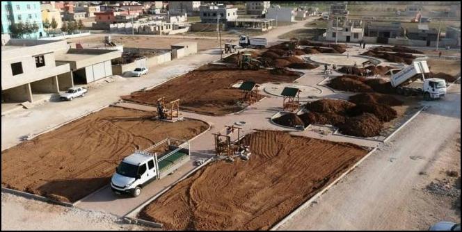 Akçakale'de Yeşil Alan Seferberliği (VİDEOLU)