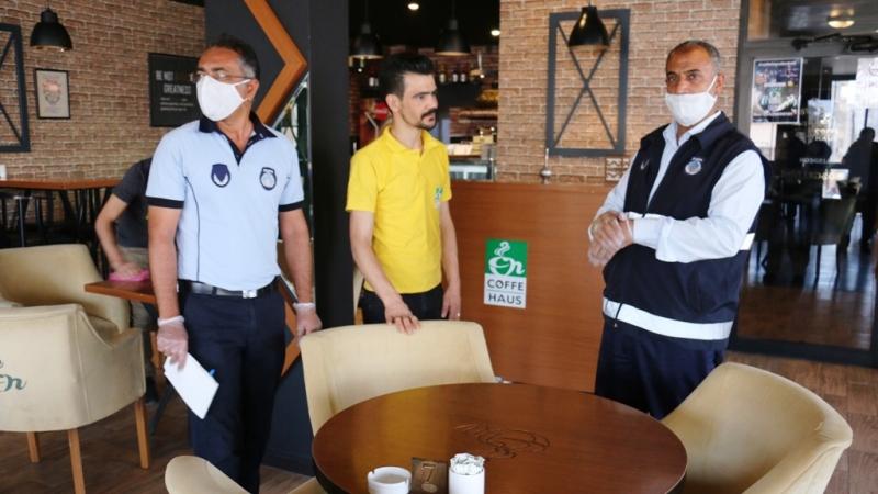 Akçakale'deki Kafe Ve Restoranlar Denetlendi