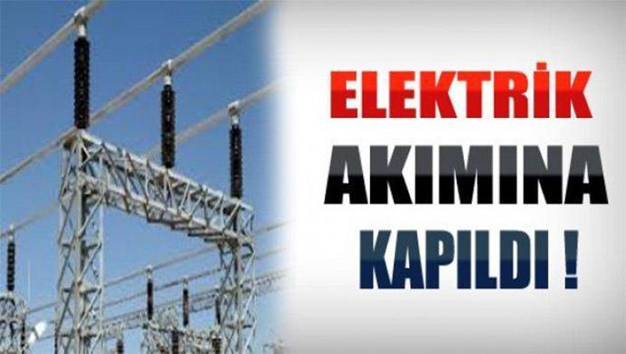 Elektrik akımına kapılan kişi ağır yaralandı
