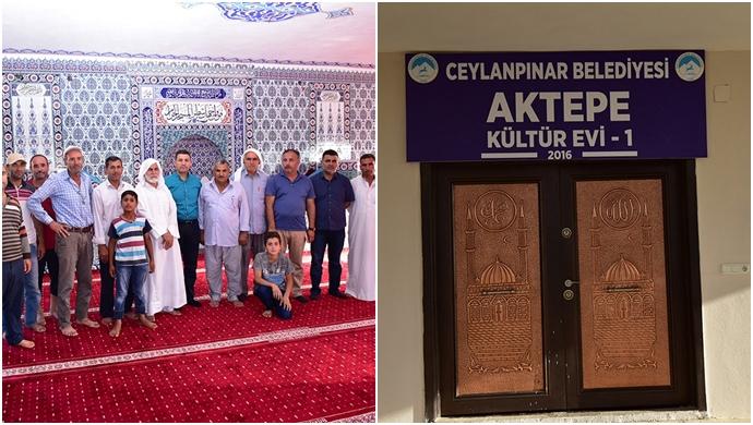 Aktepe Mahallesi Camii Halılarına Kavuştu
