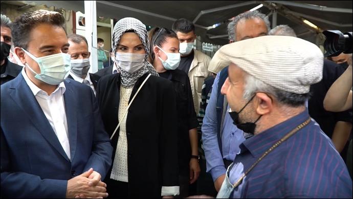 Ali Babacan Afyonkarahisar'da Esnafı Ziyaret Etti