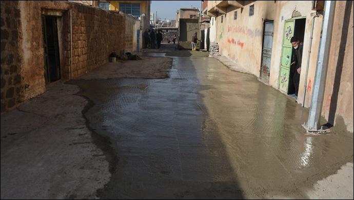 Alt yapısı tamamlanan sokaklar onarılıyor
