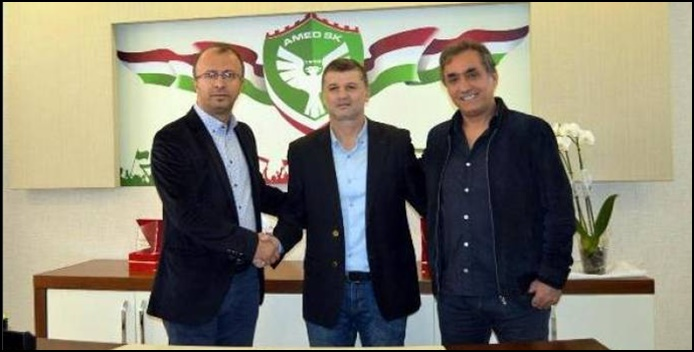Amedspor Teknik Direktör Budakın ile yollarını ayırdı