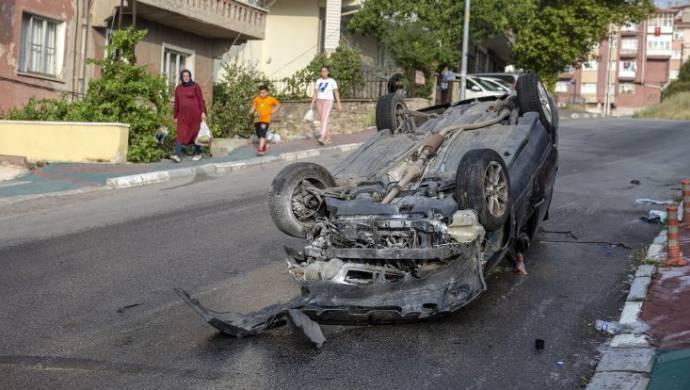 Ankara'da kaza: 5 yaralı