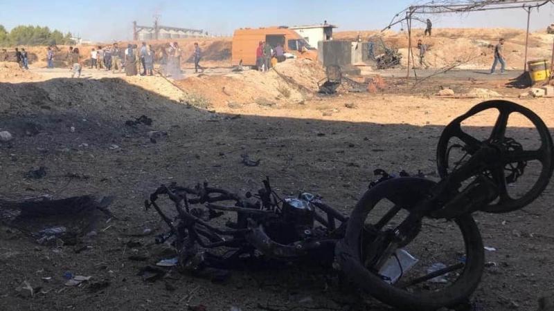 Arefe günü Rasulayn'da patlama! çok sayıda ölü ve yaralı var-(VİDEO)