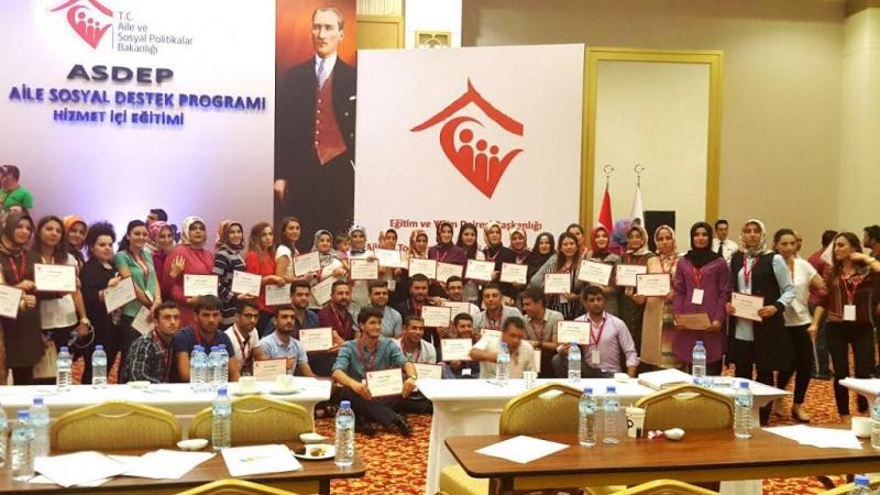 ASDEP Personeli eğitimi tamamlandı