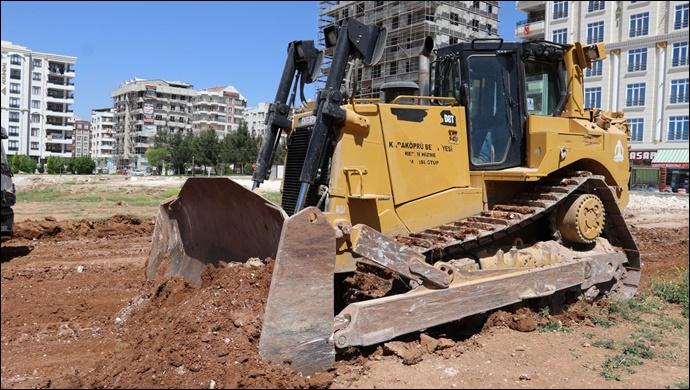 Atakent Mahallesi'nde Yeni Yol Çalışmaları Devam Ediyor-(VİDEO)