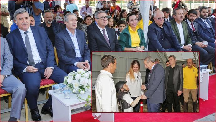 At'la Terapi Merkezi'nin 5.'si,  Şanlıurfa Hipodromu'nda açıldı