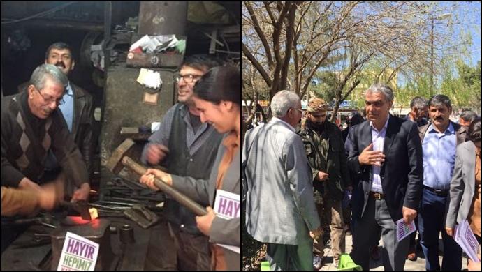 Ayhan Siverek'te esnafı ziyaret etti (VİDEO)