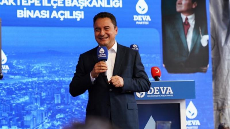 Babacan: 'Bizim hayalimizde tam demokratik bir Türkiye var'