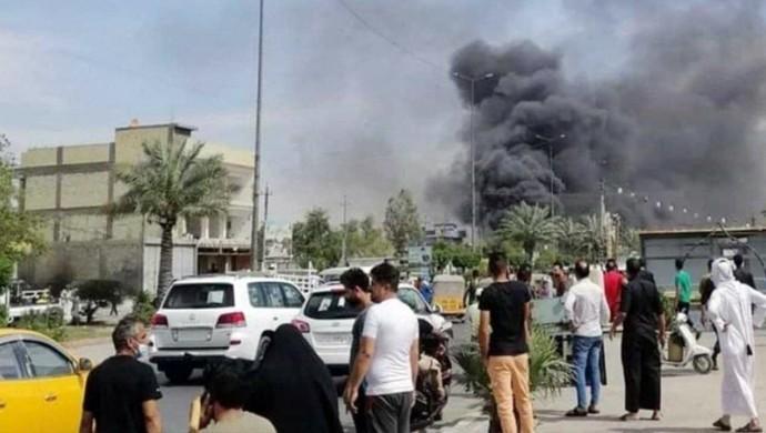 Bağdat'taki saldırıyı DAİŞ üstlendi
